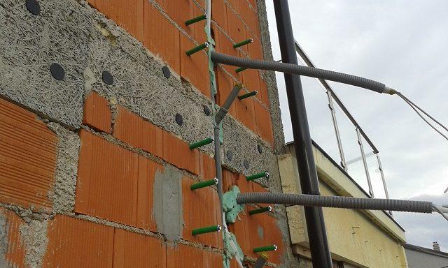 Priprema za ugradnju na stiropor fasadu