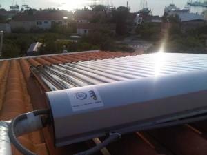 ACV solarni vakumski kolektori montaža