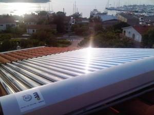 ACV solarni vakumski kolektori ugradnja