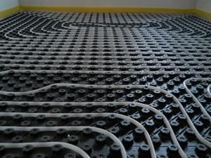 Podno grijanje instalacija raster ploče