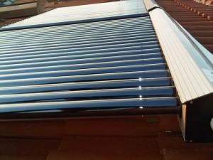 Solarni kolektori montaža na kosi krov
