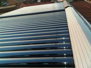 Vakumski solarni kolektori montaža