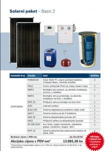 Bosch solarni paket Basic 2