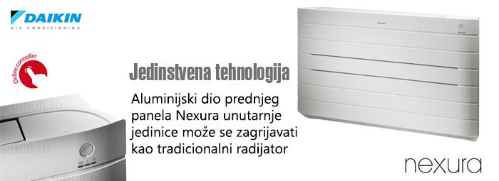 Daikin Nexura parapetni klima uređaj