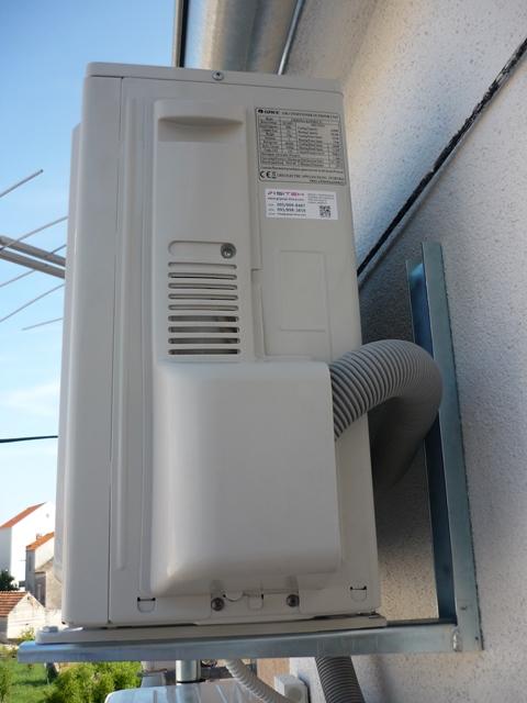 Montaža klima uređaja zaštita cijevi