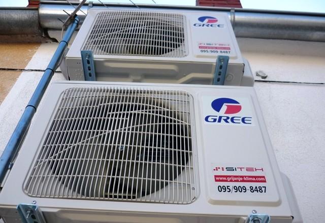 Montaža Gree klima uređaja