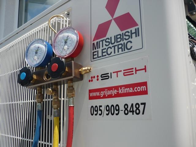 Ugradnja Mitsubishi Electric klima uređaja