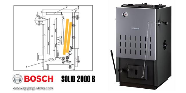 Bosch Solid 2000 B kotao na drva
