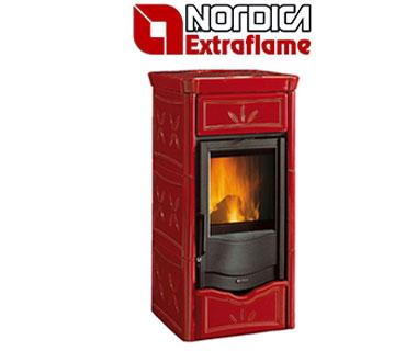 La Nordica Extraflame peći na drva za centralno grijanje