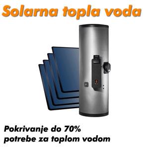Sonnenkraft solarna topla voda