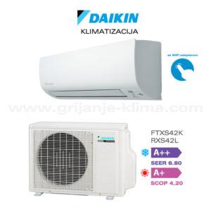 daikin-ftxs42k-wifi-rxs42l